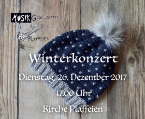 Winterkonzert 2017